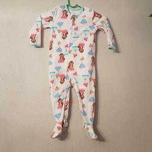 Little  girls pajamas onesie